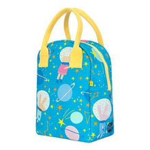 Load image into Gallery viewer, Zipper Lunch Bag - Astro Party