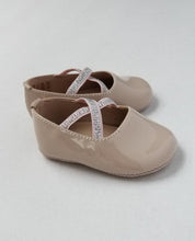 Load image into Gallery viewer, Baby girl's patent blush ballet flats