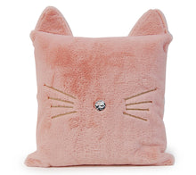 Load image into Gallery viewer, OMG Pink Fluffy Kitty Throw Pillow