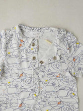 Load image into Gallery viewer, Boy's printed short sleeves romper
