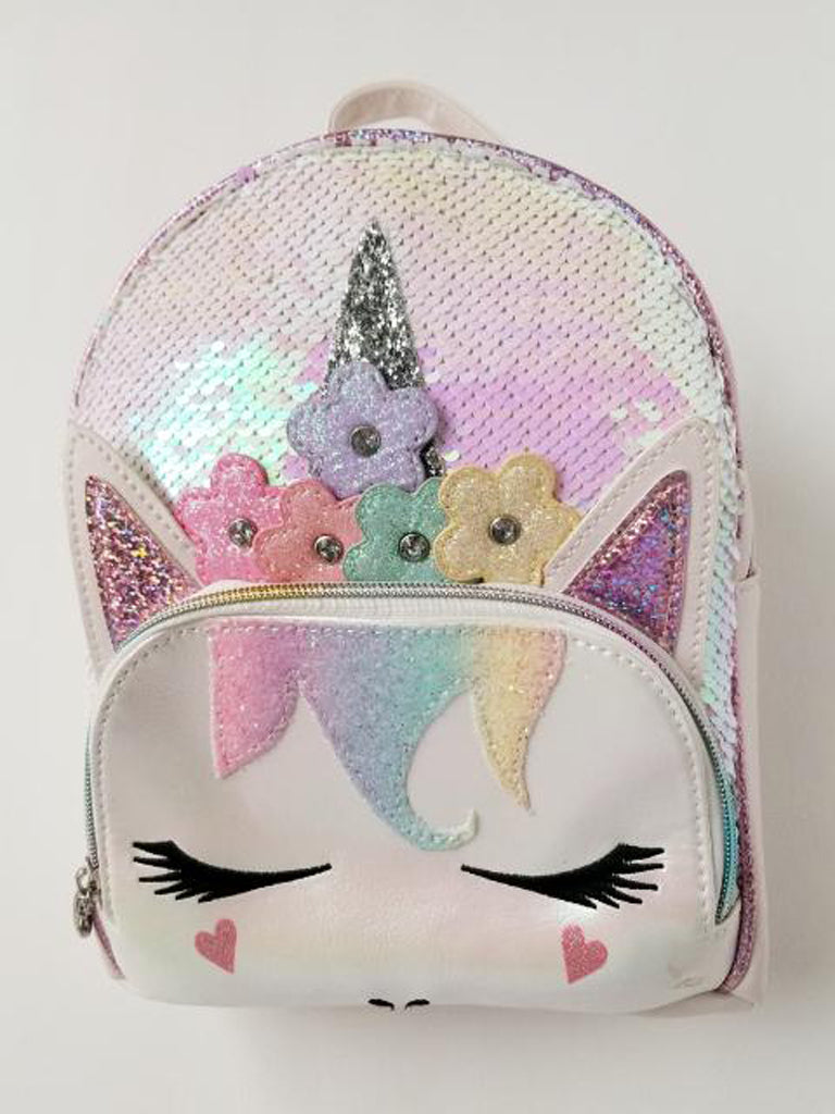 OMG Girl's Unicorn Mini Backpack