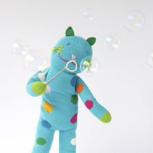 Load image into Gallery viewer, Blabla Knit Doll - Bubbles the Cat