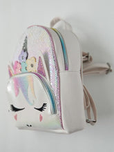 Load image into Gallery viewer, OMG Girl's Unicorn Mini Backpack