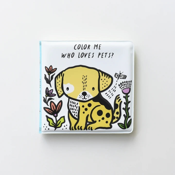 Wee Gallery Color Me - Who Loves Pets