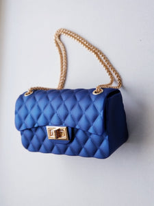 Girl's royal blue shoulder bag