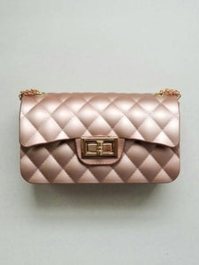 Girl's blush shoulder bag