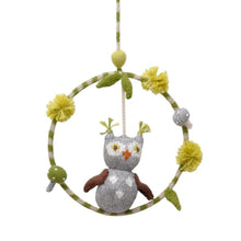 Load image into Gallery viewer, Blabla Dream Ring Knit Mobile - Owl