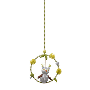 Blabla Dream Ring Knit Mobile - Owl