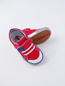 See Kai Run Boy's Red/Blue Sneakers