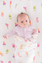 Load image into Gallery viewer, Loulou Lollipop Muslin Swaddle Blanket - Ice Cream Social