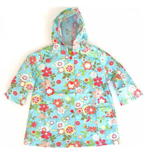 Load image into Gallery viewer, Pluie Pluie Blue Floral Raincoat