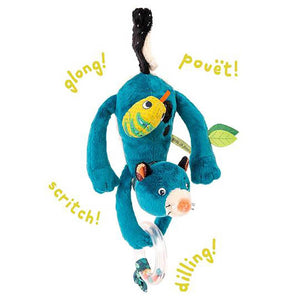 Moulin Roty Hanging Activity Toy Zimba Dans La Jungle