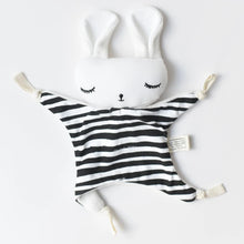 Load image into Gallery viewer, Wee Gallery Cuddle Bunny - Stripes