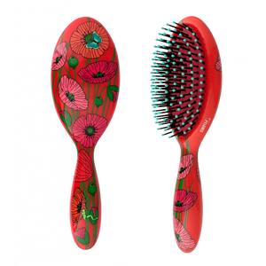 Pylone Large Hairbrush - Coquelicots