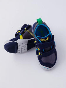 Plae Boy's Navy/Steel Sneakers
