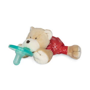 WubbaNub Plush Pacifier - PJ Baby Bear