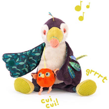 Load image into Gallery viewer, Moulin Roty - Dans La Jungle - Pakou Musical Toucan