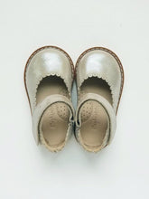 Load image into Gallery viewer, Baby girl's shimmery taupe ballerina Mary Jane