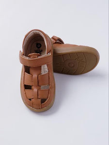 Old Soles Boy's Lt. Brown Sandals