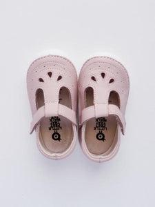 Old Soles Girl's Pink T-strap Shoes
