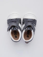Load image into Gallery viewer, Old Soles Boy's Grey/Snow Sneakers