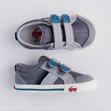Load image into Gallery viewer, See Kai Run Boy's Grey/Teal Sneakers