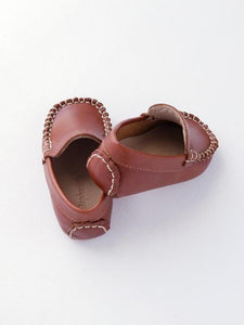 Baby boy's brown Moccasin