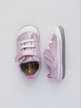 Load image into Gallery viewer, See Kai Run Baby Girl's Pink Glitter Sneakers