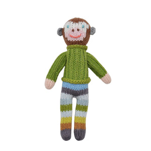 Blabla School Book Boy Monkey Rattle