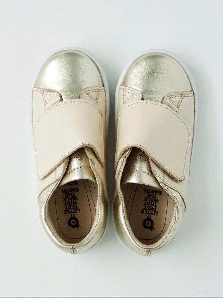 Old Soles Girl's Gold Sneakers