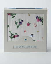 Load image into Gallery viewer, Deluxe Muslin Quilt - Berry Patch
