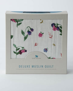 Deluxe Muslin Quilt - Berry Patch