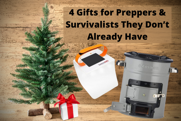4 Gifts for Preppers & Survivalists They Don't Already Have
