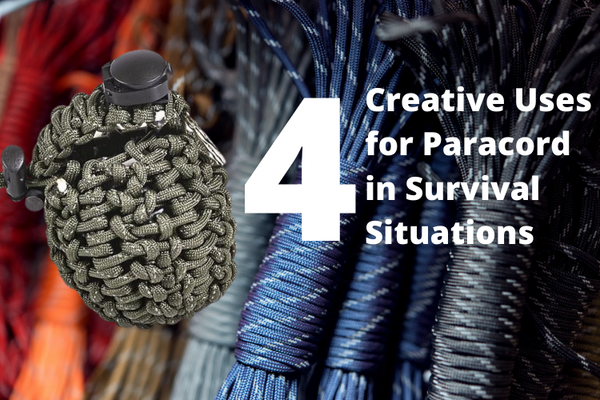 4 creative uses for paracord in survival situations