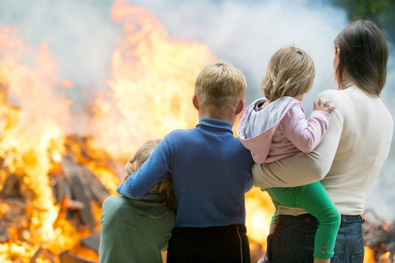 How Can I Protect My Children In Case Of A Wildfire? | Survival Gear Systems