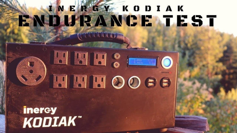 Inergy Kodiak Portable Generator Endurance Test | Survival Gear Systems
