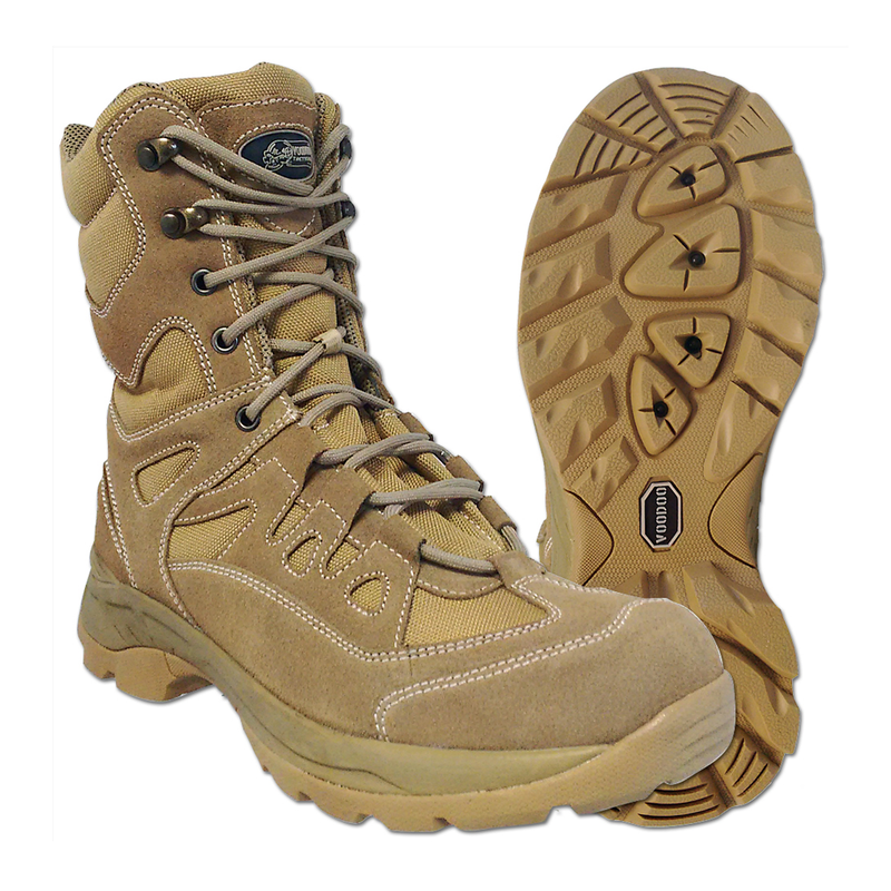 "Voodoo Tactical 9"" Tactical Boots With Zipper"