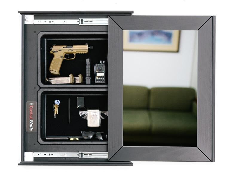 Tactical Walls 1420M Concealment Mirror with Magnetic Lock
