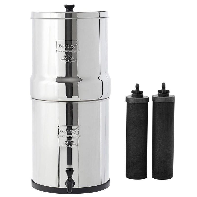 Big Berkey Water Filter System with 2 Black Filters
