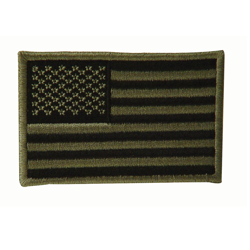 "Voodoo Tactical Embroidered USA Military Flag Patch 2"" X 3"""