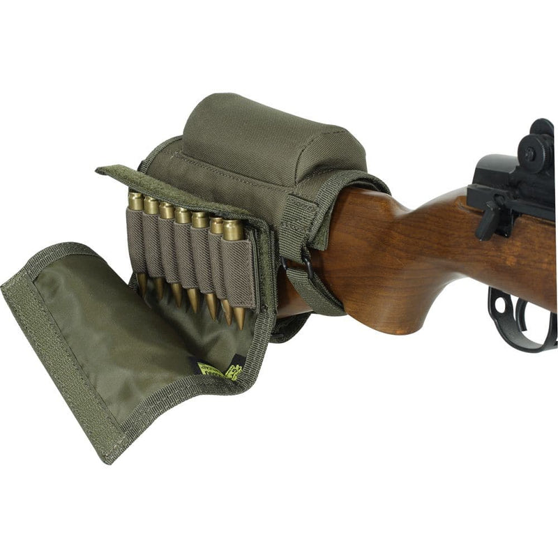 Voodoo Tactical Buttstock Cheek Piece With Ammo Carrier