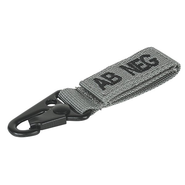 Voodoo Tactical Blood Type Tag - AB Neg
