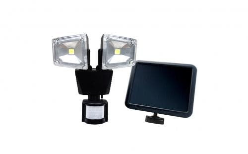 Nature Power Dual COB Solar Motion Activated Secuirty Light - 22060