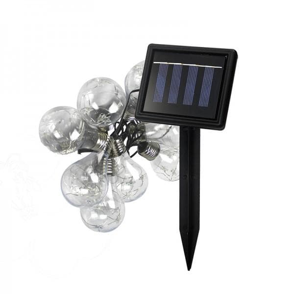 Nature Power 64 Inch Solar Powered LED String Lights - 22044
