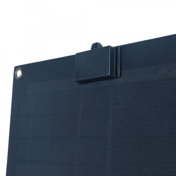 Nature Power 15 Watt Semi Flexible Monocrystalline Solar Panel with 8 Amp Charge Controller - 56704