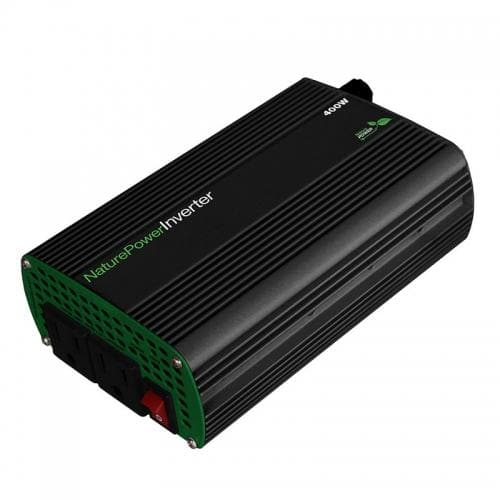 Nature Power 12 Volt 400 Watt Modified Sinewave Power Inverter - 38204