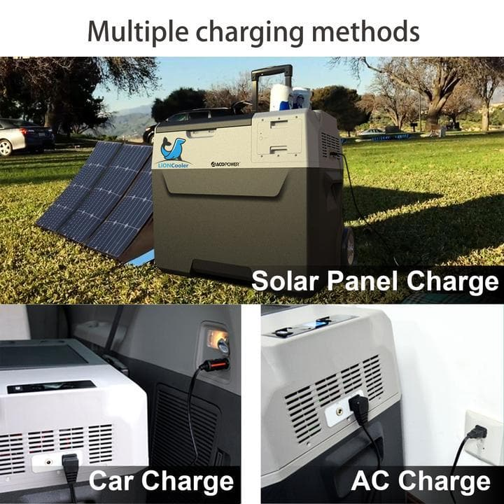 ACOPOWER LionCooler X30A Portable Solar Fridge Freezer New Model - 32 Quarts