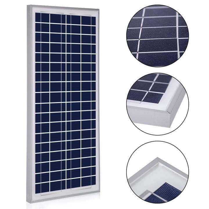 ACOPWER 35 Watts Poly Solar Panel