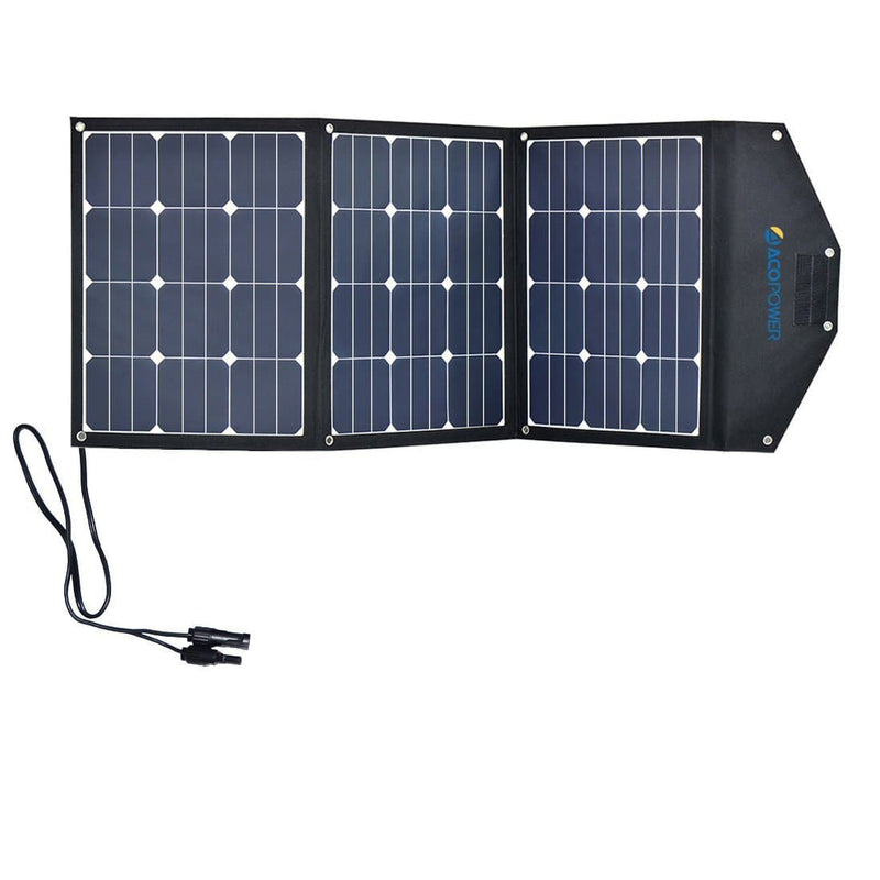 ACOPOWER LTK 105W Foldable Solar Panel Suitcase