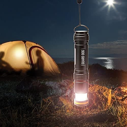 Guard Dog Security Flarelite - 450 Lumen Flashlight + Lantern